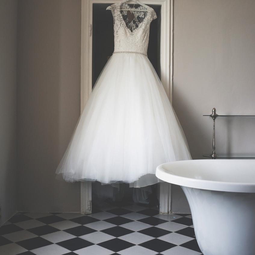 Fairytale wedding in French chateau