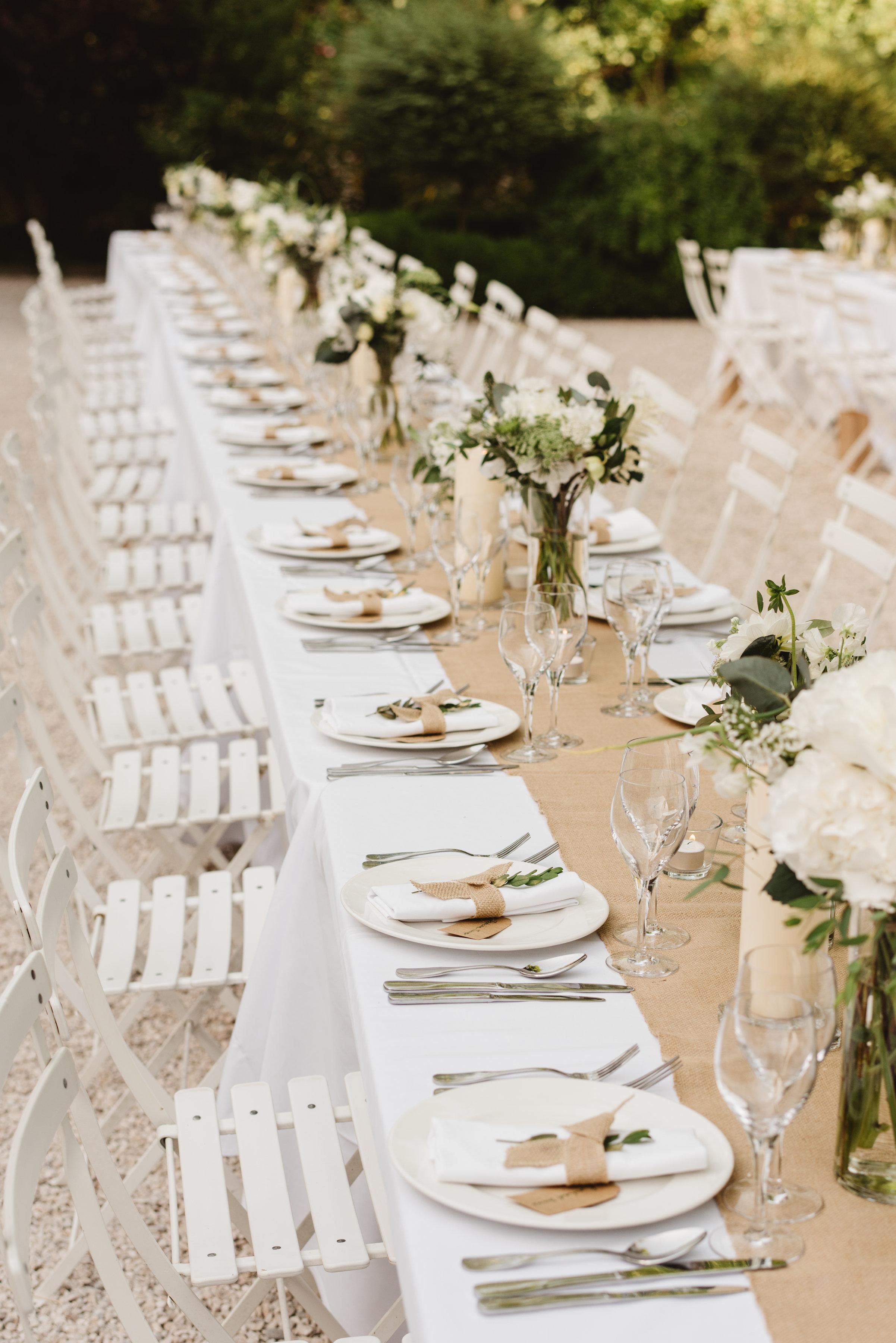 Chateau wedding saying