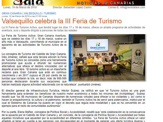Valsequillo celebra la III Feria de Turismo