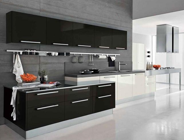 white-and-black-kitchen-cupboards-design