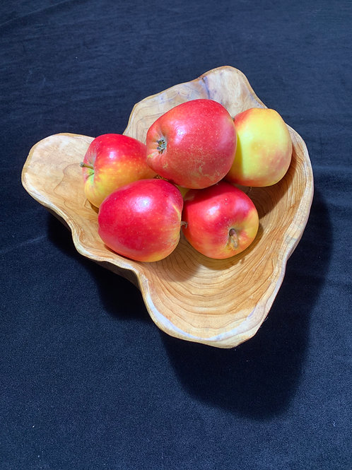 Root wood fruit bowls