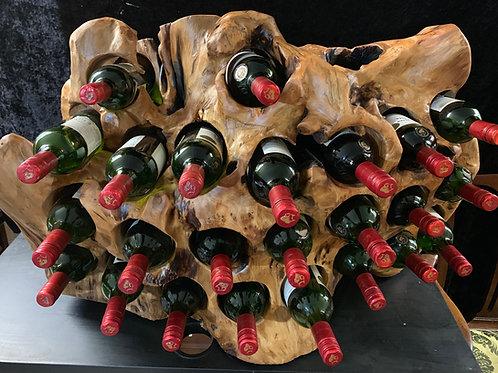 24 Bottle wine Holder stunning character