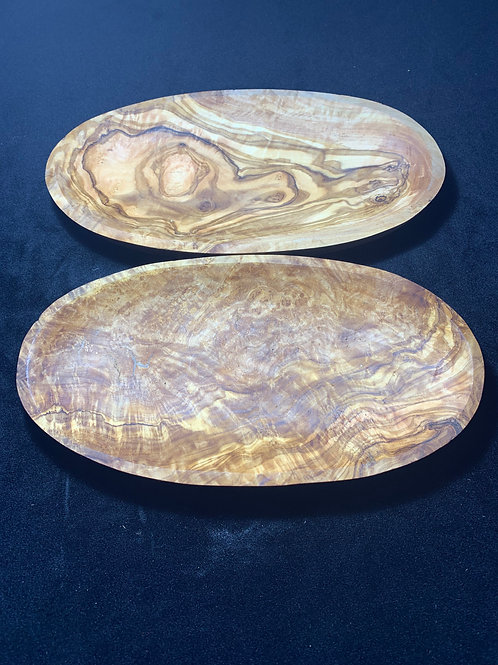 one compartment olive wood dish