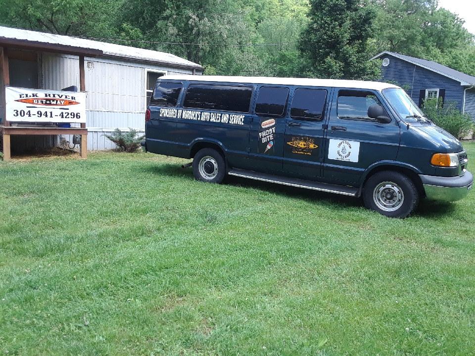 Elk River Get-A-Way Rentals Shuttle