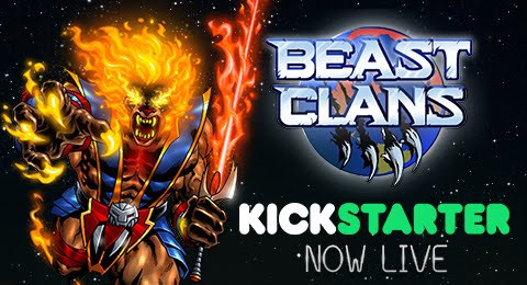 Check Out Beast Clans Card Game On KickStarter!