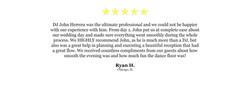 DJ Website Quote - Ryan H