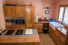 Küche - voll ausgestattet