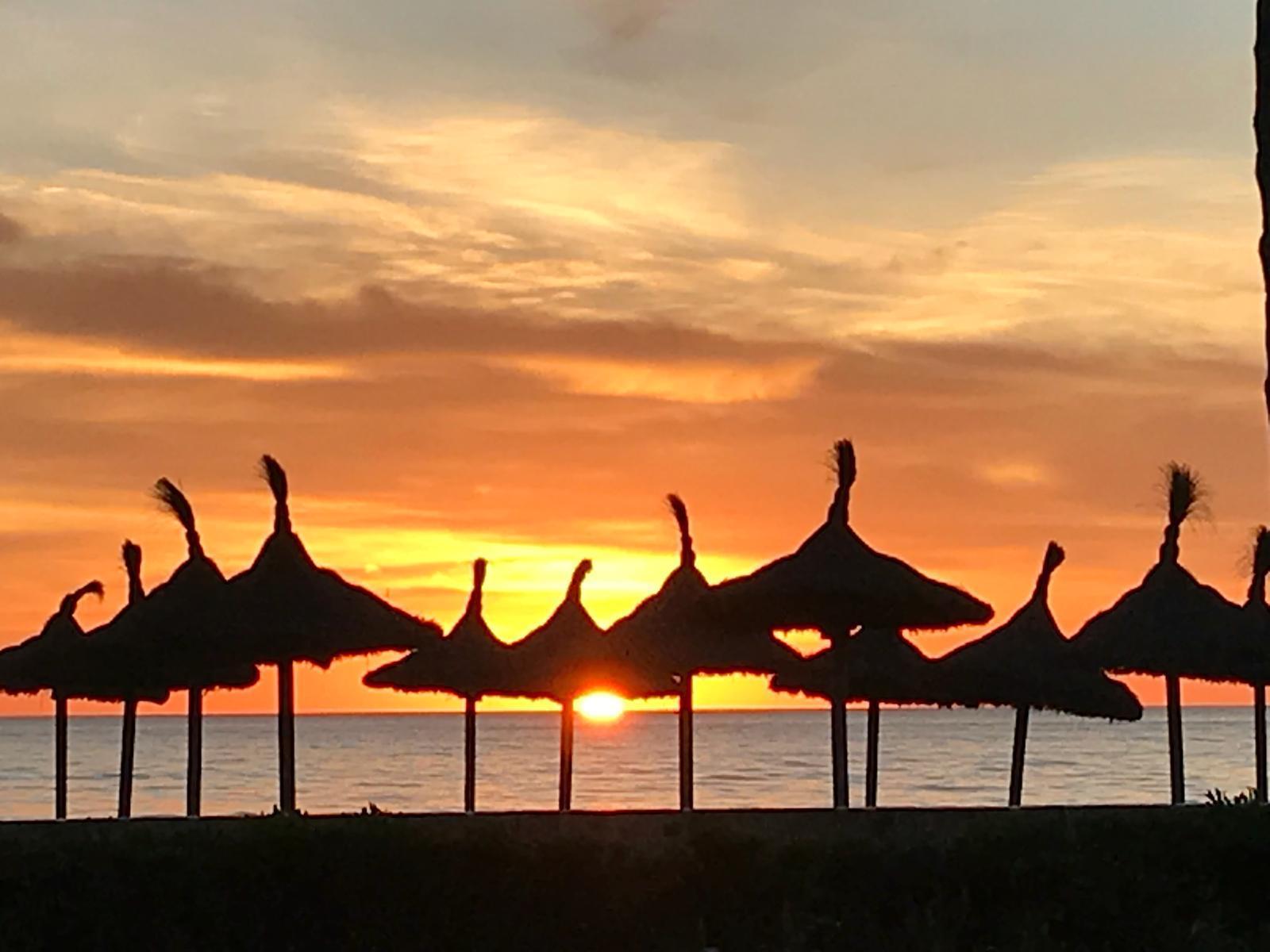Playa de Palma Abendstimmung