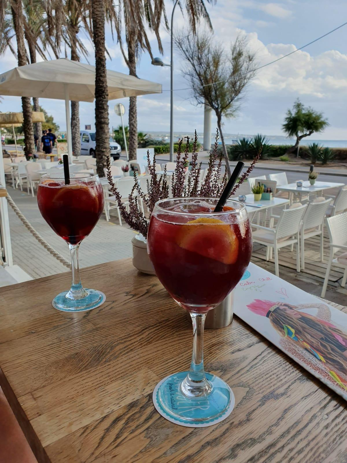 Sangria on the Beach