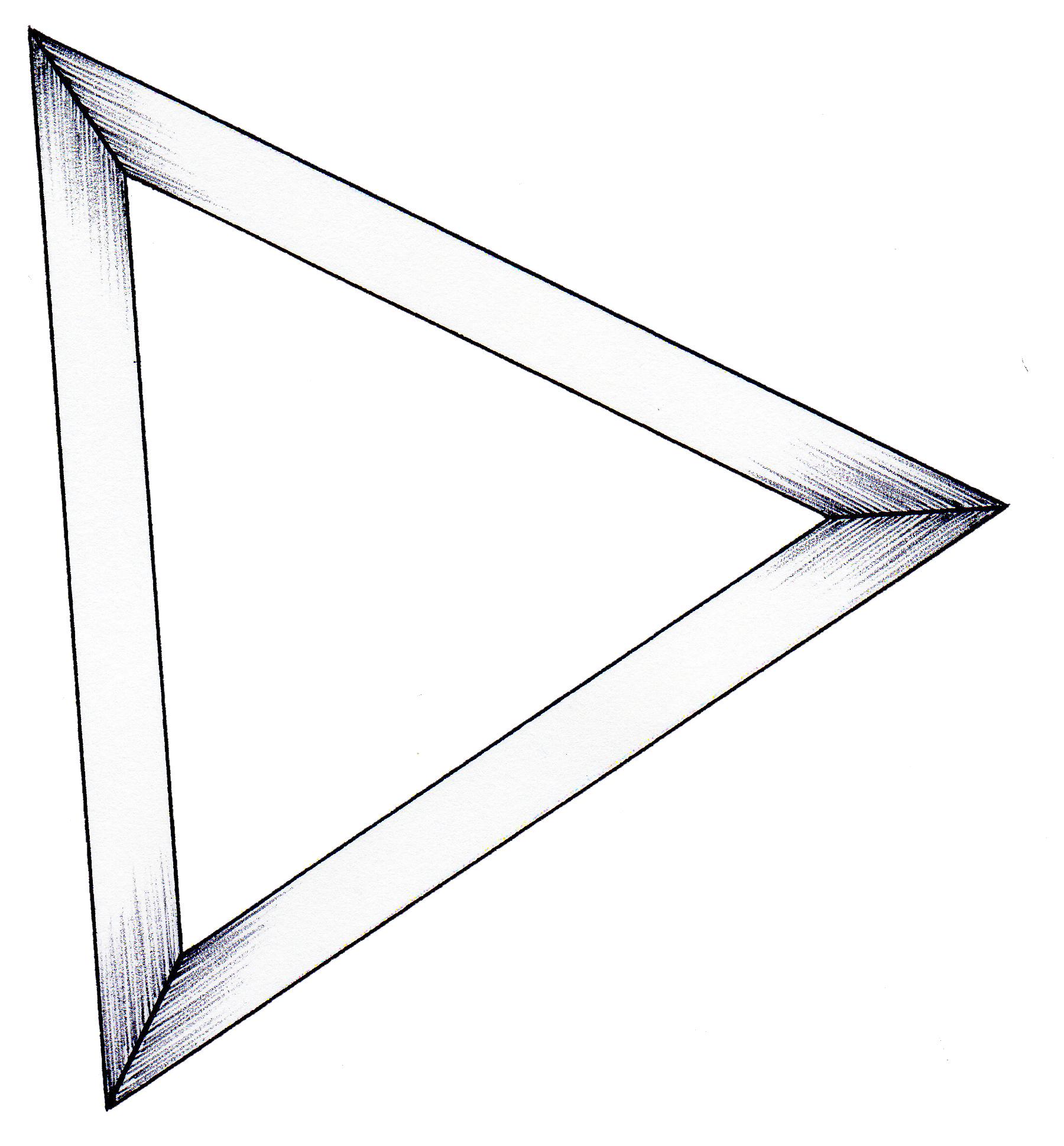 トライアングルフレーム(ホームページパーツ)Triangle frame(HP parts)