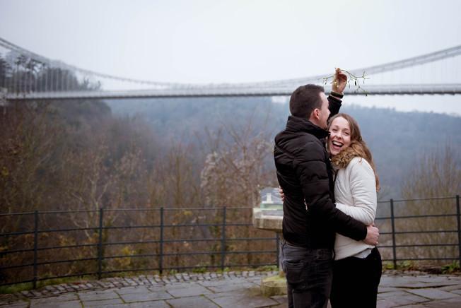 Rosie and Ergys - Bristol, Clifton Bridge
