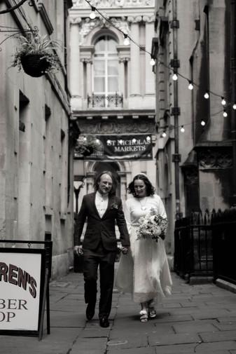 Rhys and Carmen - Bristol Registry Office