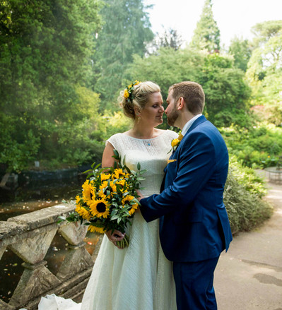 Lizzie & Simon - Bath Botanical Gardens