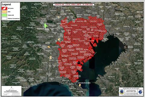 東京は感染危険地域「立ち入り禁止」米軍横田基地が内部通達