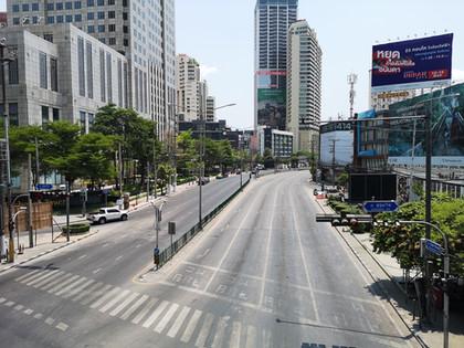 【新型コロナ】無人化した巨大都市バンコク