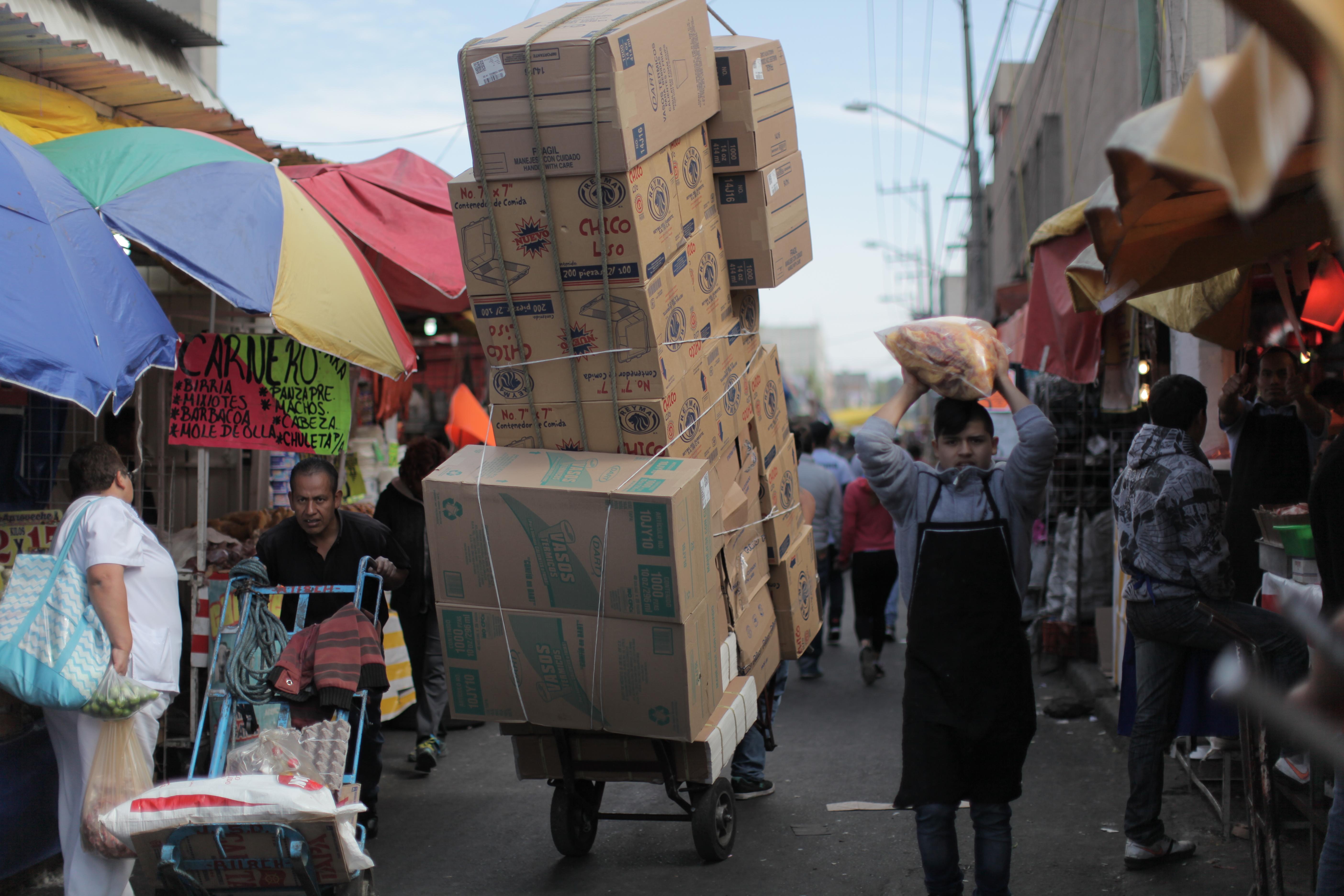 Super Mercado Man - Central de Abastos Market, Mexico 2015