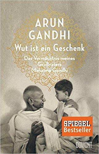 Arun Gandhi, Wut ist ein Geschenk