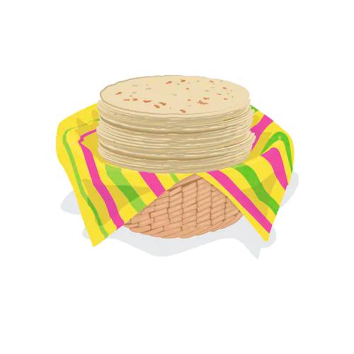 Masa, tortillas, tostadas preparadas para su elaboración