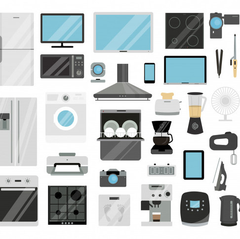 Electrónicos, eléctricos y electrodomésticos