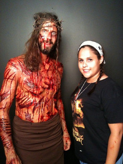 Passion of the christ inspired.
