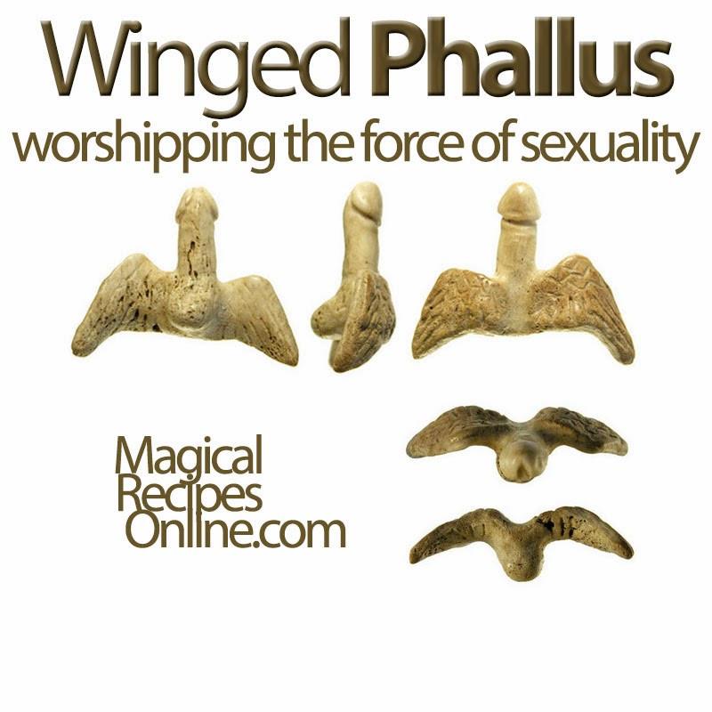 Winged Phallus Magic