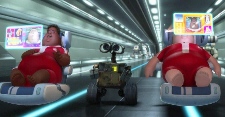 Disney Pixar's Wall-E Humans