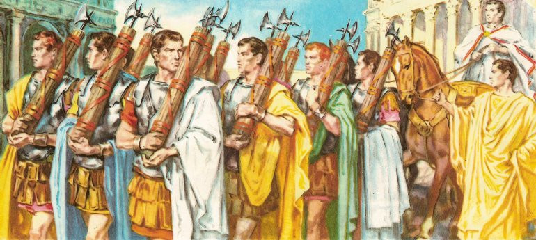 Fasces in Ancient Rome