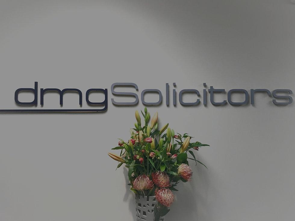 DMG Solicitors Reception