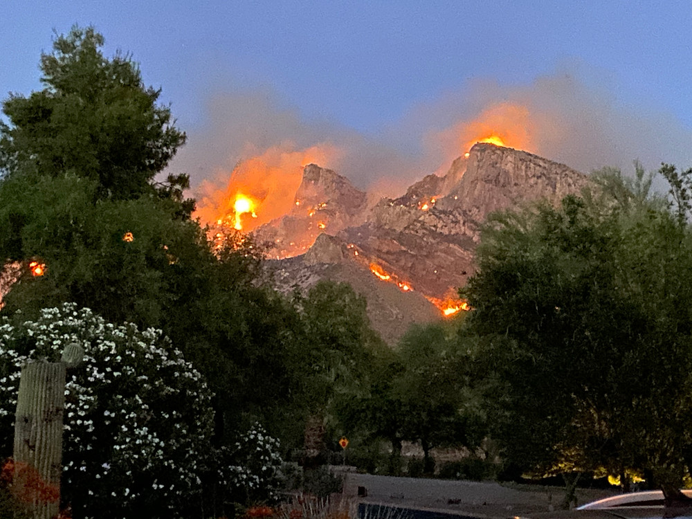Pusch Ridge on Fire 2020