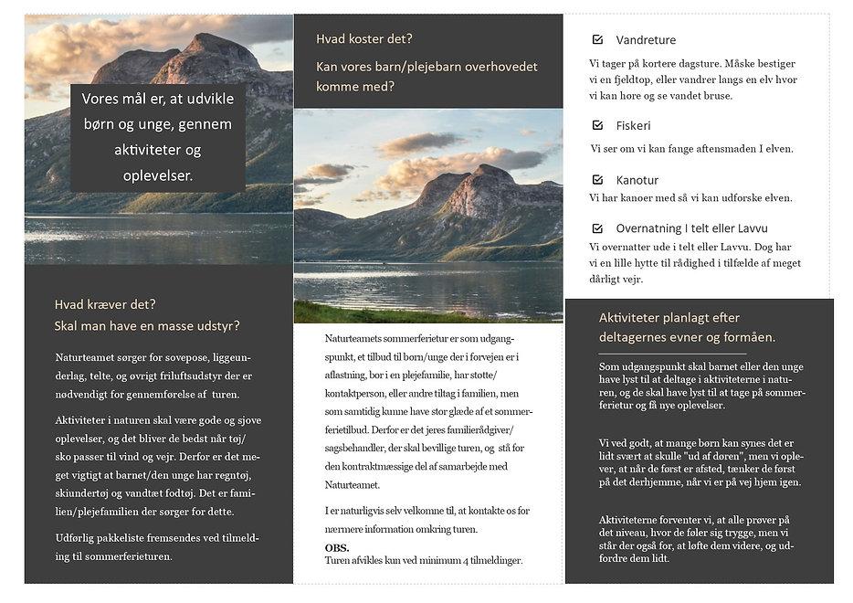 Brochure Naturteamets sommerferietur s2.