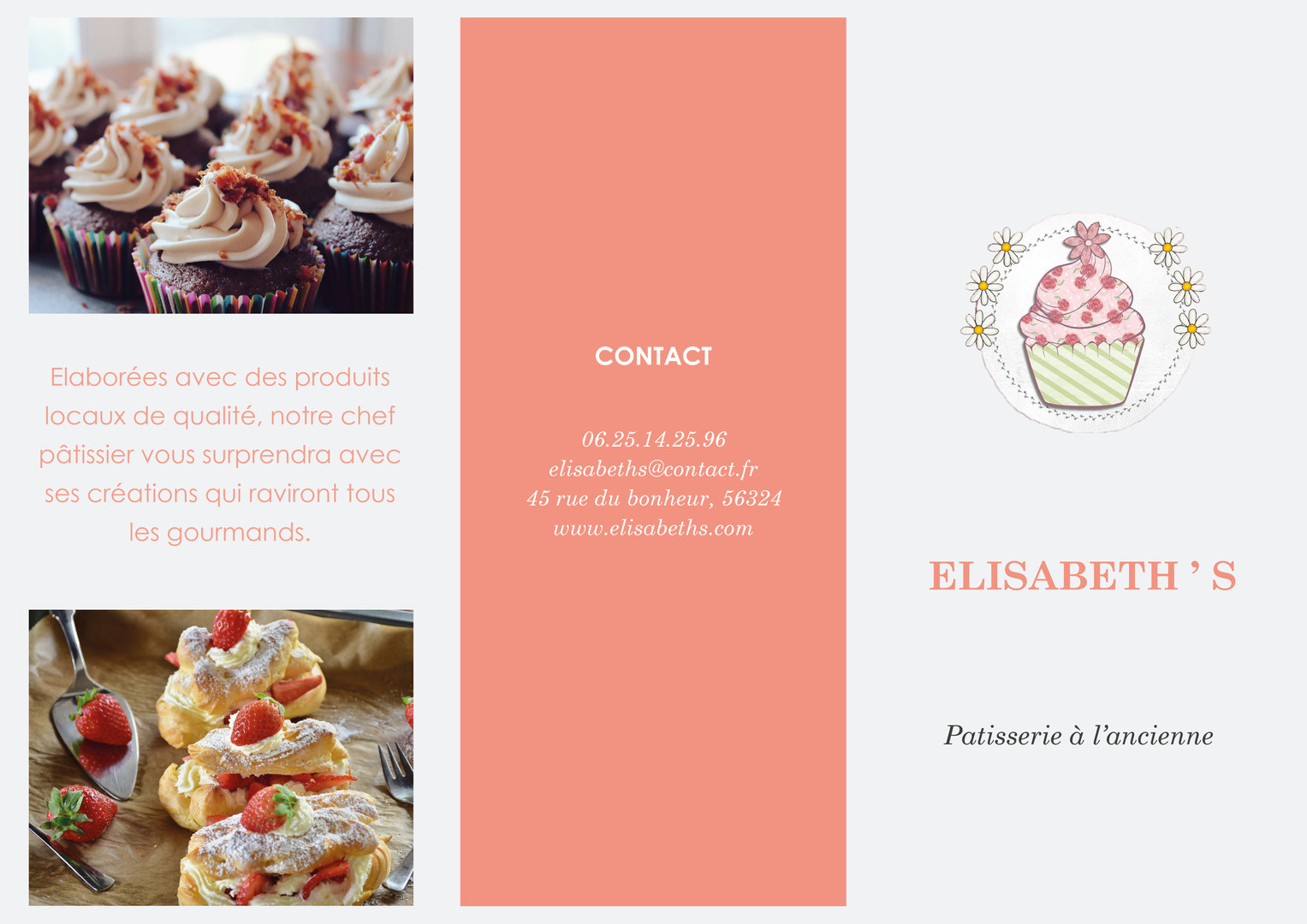 Flyer Patisserie