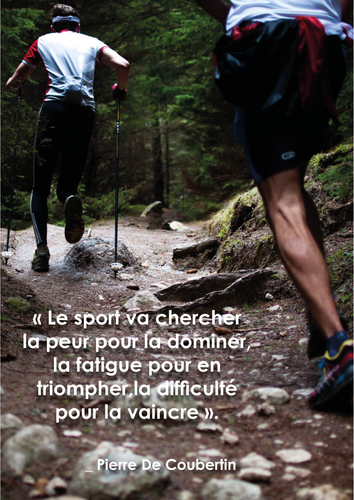 Affiche sport