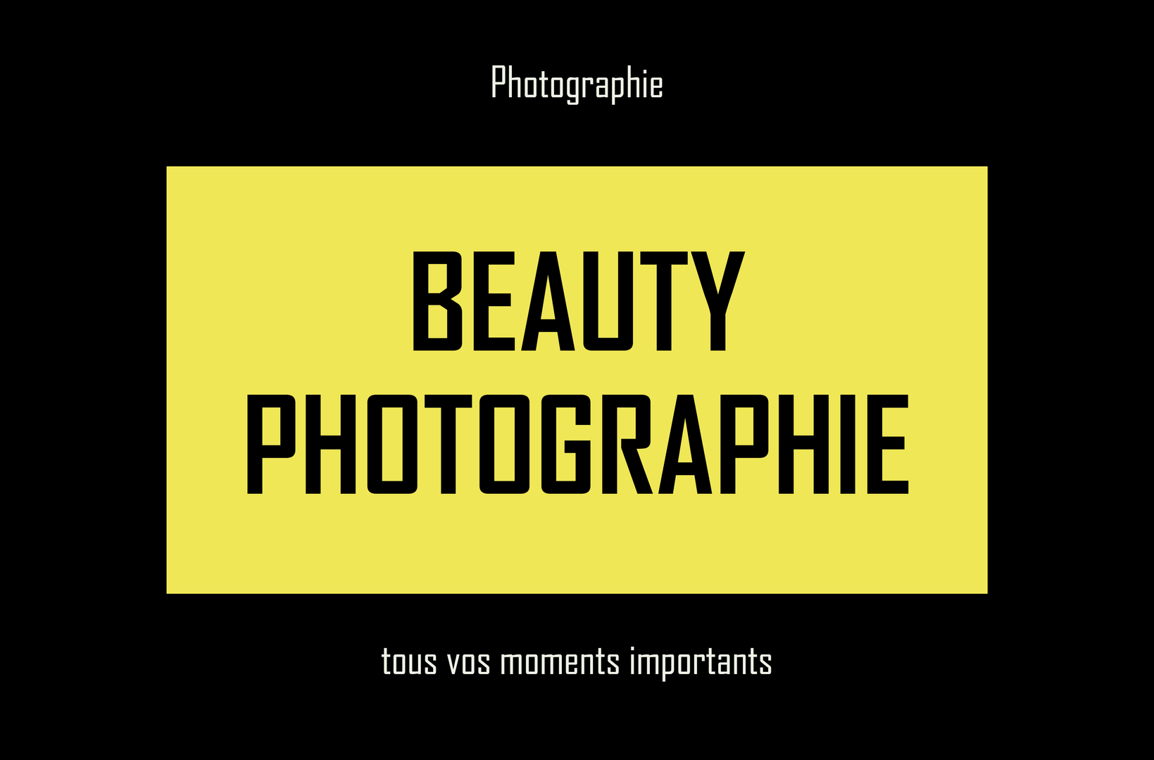 carte de visite photographe