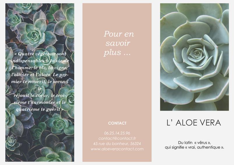 Flyer Produit Naturel