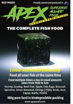 Apex Superior Aquatic Food - Herbivore Edition