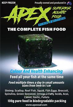 Apex Superior Aquatic Food - Fish Edition