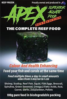 Apex Superior Aquatic Food - Reef Edition