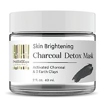 Skin Brightening Charcoal Mask - Massage Spa of Winter Park