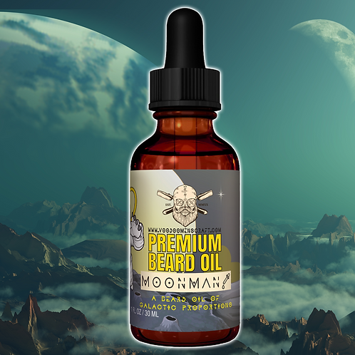 Moonman - A Sweet And Peppery Beard Oil