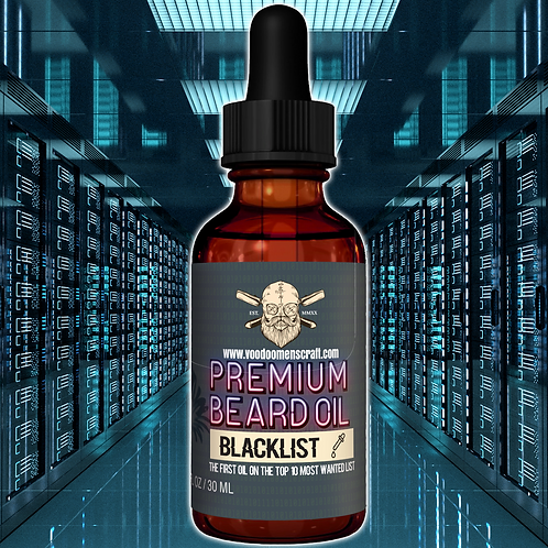 Blacklist - A Sweet And Tangy Beard Oil