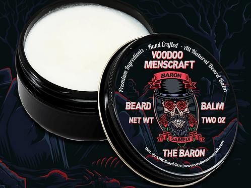 The Baron - A Bay Rum Beard Balm