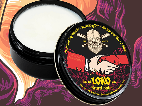Loko - A Sweet And Musky Beard Balm