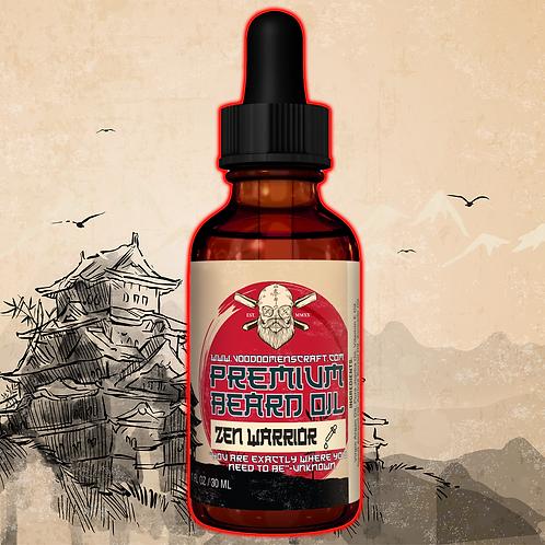 Zen Warrior - A Relaxing Chai Beard Oil