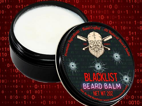 Blacklist - A Sweet And Tangy Beard Balm