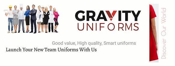 Gravity Uniforms, Uniforms supplier, Uniforms Manufacturing,