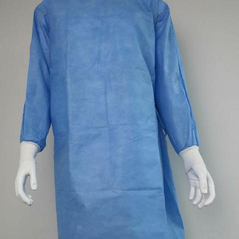 Surgical gown nonwoven