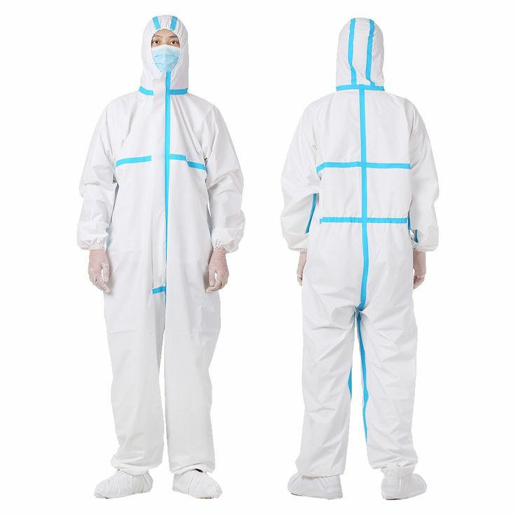 Nonwoven isolation coverall Disposable