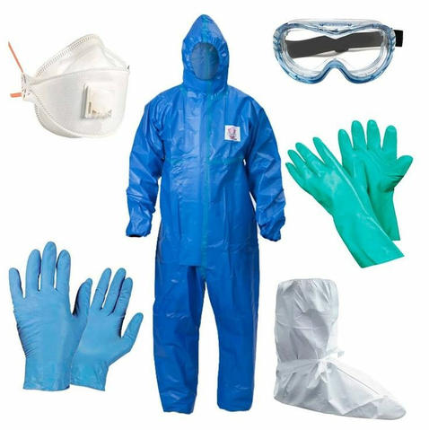 Plastic coverall Disposable