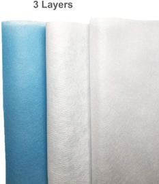 Face mask 3 layers nonwoven