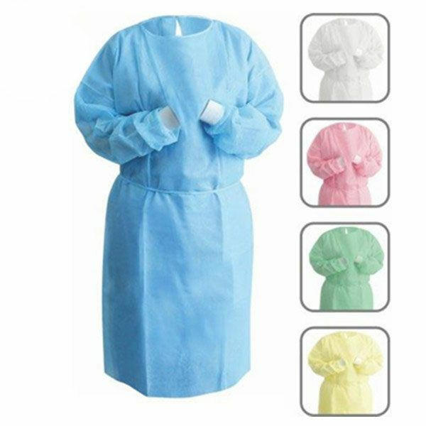 Surgical isolation gown nonwoven